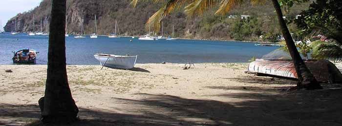 Beach in Guadaloupe
