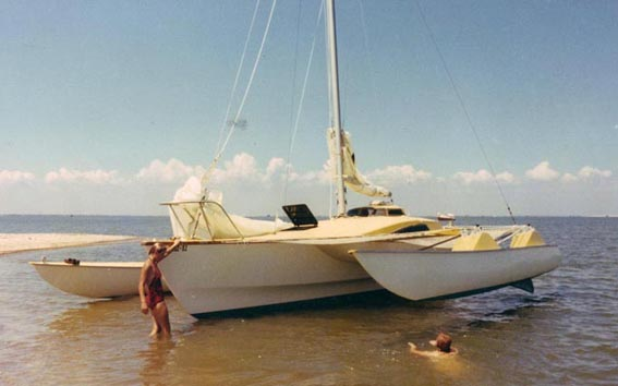Shifter 32 beached in Galveston Bay